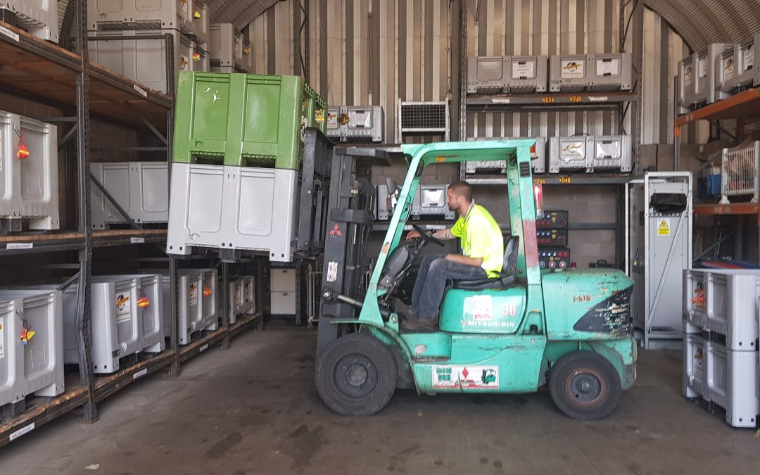 ITSSAR Accredited Forklift training in the South West
